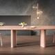 Tavoli di design moderno Bonaldo: Cross Table Glass, Art Wood e Geometric Table