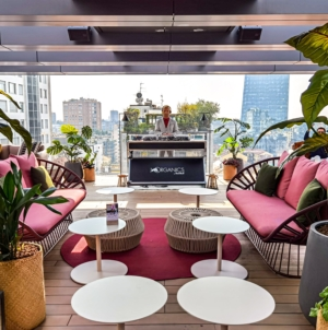 Terrazza Organics Skygarden Milano: l'aperitivo dei milanesi è una urban chic jungle di design
