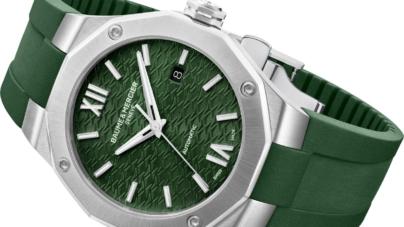 Baume & Mercier Riviera Summer: l'icona della Maison si declina in verde
