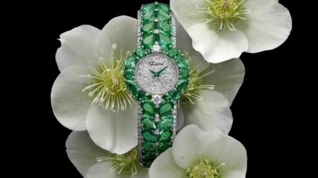 Chopard Esperanza Red Carpet Collection 2021: gli smeraldi protagonisti del nuovo orologio gioiello