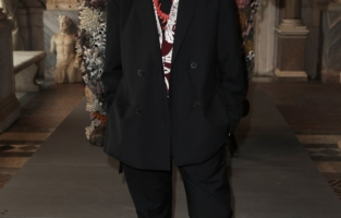 ROME, ITALY - JUNE 07: Pierpaolo Piccioli attends Damien Hirst Archaeology now exhibition, sponsored by Prada at Galleria Borghese on June 07, 2021 in Rome, Italy. (Photo by Ernesto S. Ruscio/Getty Images for Prada)