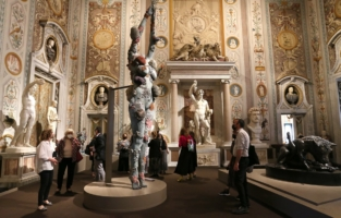 ROME, ITALY - JUNE 07: A general view during the Damien Hirst Archaeology now exhibition, sponsored by Prada at Galleria Borghese on June 07, 2021 in Rome, Italy. (Photo by Elisabetta Villa/Getty Images for Prada)
