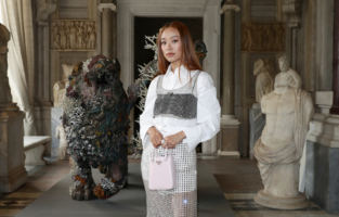 ROME, ITALY - JUNE 07: Niki Wu Jie attends Damien Hirst Archaeology now exhibition, sponsored by Prada at Galleria Borghese on June 07, 2021 in Rome, Italy. (Photo by Vittorio Zunino Celotto/Getty Images for Prada)