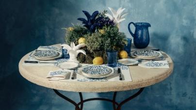 Dior Maison Blue Mizza: la collezione impreziosita dalla raffinata stampa maculata