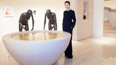 Giada film Art to Art: Claudio Silvestrin – L'Evoluzione di un Grande Artista, premiere a Pechino