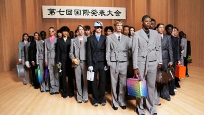 Louis Vuitton Uomo primavera estate 2022: il fashion film Amen Break, tutti i look