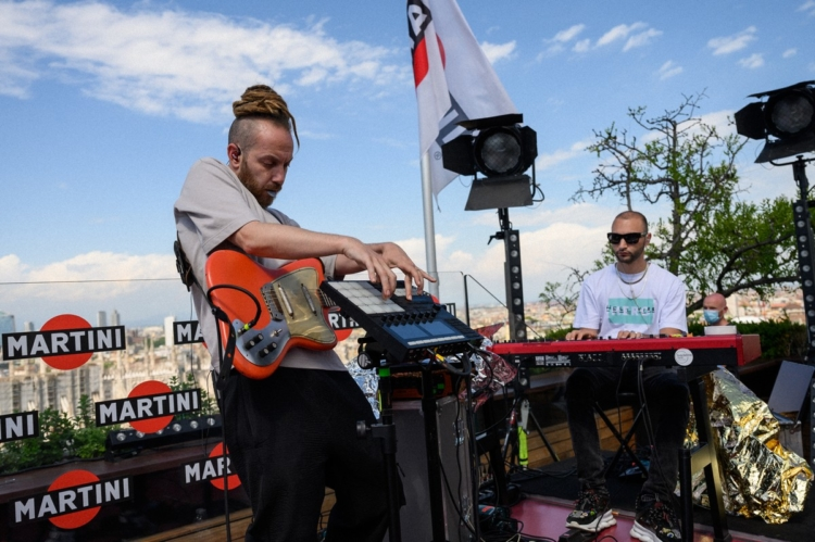 Martini Live Bar Gemitaiz