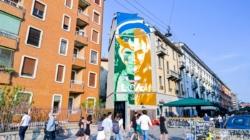 Murales Loki Milano: l'Art Wall realizzato dallo street artist Lucamaleonte