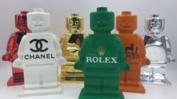 NH Collection Milano President mostra Alessandro Piano: Game Research, gli omini Lego diventano opere d'arte