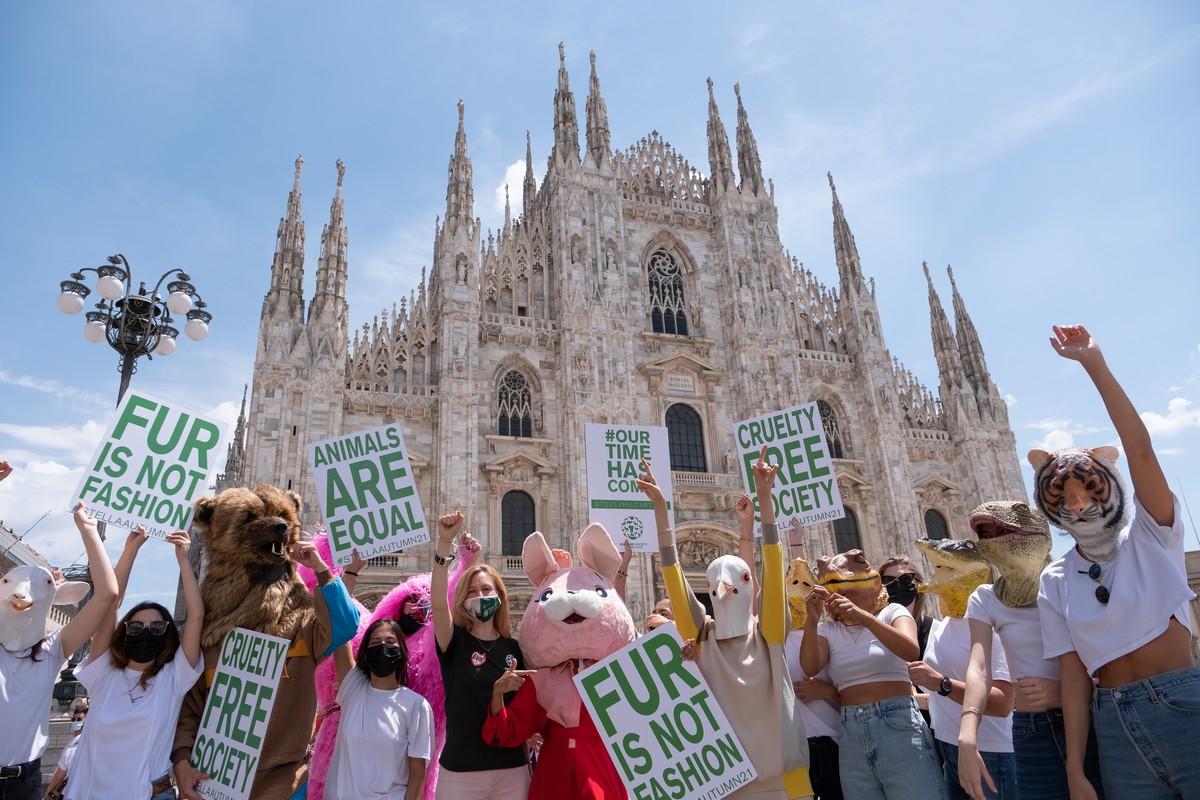 Stella McCartney Guerilla gathering Milano