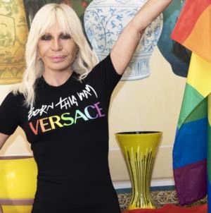 Versace x Born This Way Foundation: la capsule che celebra il Pride Month