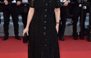 """CANNES, FRANCE - JULY 09: Irene Jacob attends the """"Benedetta"""" screening during the 74th annual Cannes Film Festival on July 09, 2021 in Cannes, France. (Photo by Dominique Charriau/WireImage)"""