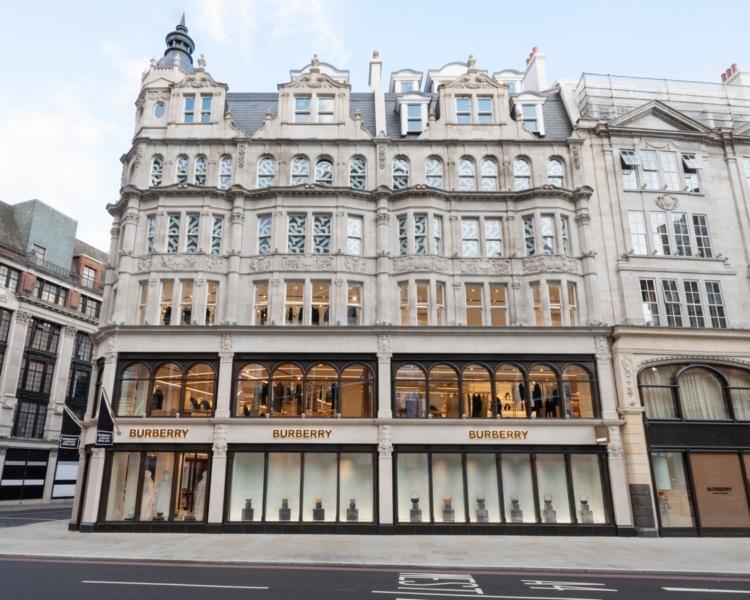 Burberry 1 Sloane Street Londra