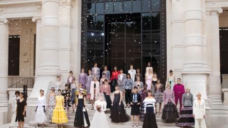 Chanel Haute Couture autunno inverno 2021: la pittura impressionista, tutti i look e il video