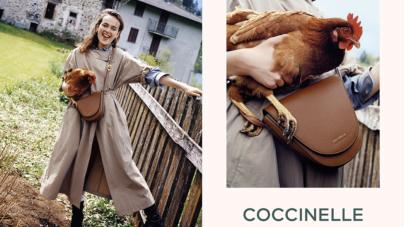 Coccinelle campagna autunno inverno 2021: protagoniste le bag iconiche Josephine e Coccinelle Beat