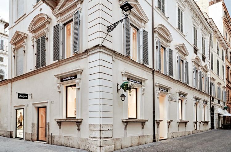 Ermenegildo Zegna boutique Roma