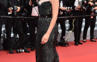 """CANNES, FRANCE - JULY 12: Noemie Merlant attends the """"The French Dispatch"""" screening during the 74th annual Cannes Film Festival on July 12, 2021 in Cannes, France. (Photo by Dominique Charriau/WireImage)"""