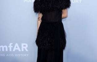 CAP D'ANTIBES, FRANCE - JULY 16: Vicky Krieps attends the amfAR Cannes Gala 2021 at Villa Eilenroc on July 16, 2021 in Cap d'Antibes, France. (Photo by Andreas Rentz/amfAR/Getty Images for amfAR)