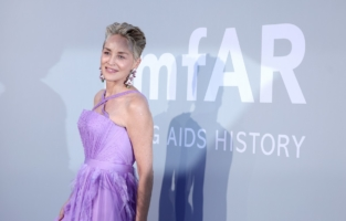 CAP D'ANTIBES, FRANCE - JULY 16: Sharon Stone attends the amfAR Cannes Gala 2021 at Villa Eilenroc on July 16, 2021 in Cap d'Antibes, France. (Photo by Andreas Rentz/amfAR/Getty Images for amfAR)