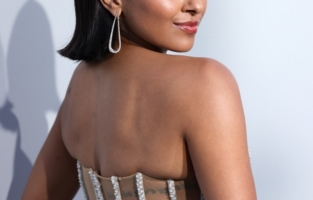 CAP D'ANTIBES, FRANCE - JULY 16: Kat Graham attends the amfAR Cannes Gala 2021 at Villa Eilenroc on July 16, 2021 in Cap d'Antibes, France. (Photo by Andreas Rentz/amfAR/Getty Images for amfAR)