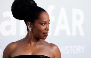 CAP D'ANTIBES, FRANCE - JULY 16: Regina King attends the amfAR Cannes Gala 2021 at Villa Eilenroc on July 16, 2021 in Cap d'Antibes, France. (Photo by Andreas Rentz/amfAR/Getty Images for amfAR)