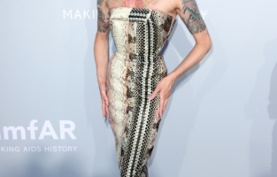 CAP D'ANTIBES, FRANCE - JULY 16: Miss Fame attends the amfAR Cannes Gala 2021 at Villa Eilenroc on July 16, 2021 in Cap d'Antibes, France. (Photo by Andreas Rentz/amfAR/Getty Images for amfAR)