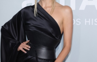 CAP D'ANTIBES, FRANCE - JULY 16: Natasha Poly attends the amfAR Cannes Gala 2021 at Villa Eilenroc on July 16, 2021 in Cap d'Antibes, France. (Photo by Andreas Rentz/amfAR/Getty Images for amfAR)