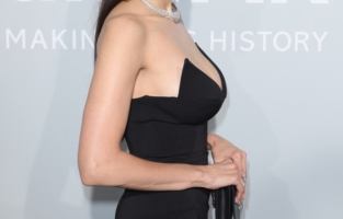 CAP D'ANTIBES, FRANCE - JULY 16: Nina Dobrev attends the amfAR Cannes Gala 2021 at Villa Eilenroc on July 16, 2021 in Cap d'Antibes, France. (Photo by Andreas Rentz/amfAR/Getty Images for amfAR)