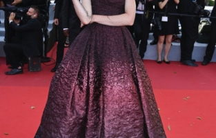 """CANNES, FRANCE - JULY 13: Coco Rocha attends the """"Aline, The Voice Of Love"""" screening during the 74th annual Cannes Film Festival on July 13, 2021 in Cannes, France. (Photo by Daniele Venturelli/WireImage)"""
