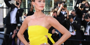Festival Cannes 2021 red carpet Aline The Voice Of Love: Isabeli Fontana, Isabelle Huppert e Coco Rocha