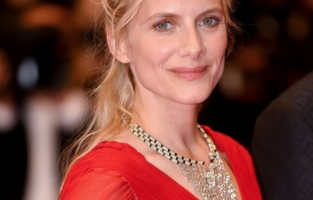 """CANNES, FRANCE - JULY 10: Melanie Laurent attends the """"Flag Day"""" screening during the 74th annual Cannes Film Festival on July 10, 2021 in Cannes, France. (Photo by Stephane Cardinale - Corbis/Corbis via Getty Images)"""