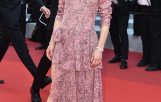 """CANNES, FRANCE - JULY 10: Vanessa Paradis attends the """"De Son Vivant (Peaceful)"""" screening during the 74th annual Cannes Film Festival on July 10, 2021 in Cannes, France. (Photo by Dominique Charriau/WireImage)"""