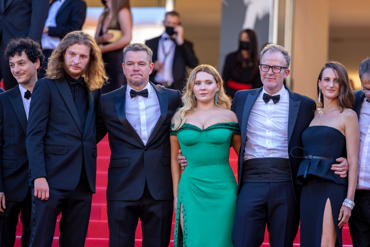 Festival Cannes 2021 red carpet Stillwater