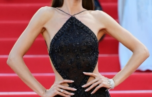 """CANNES, FRANCE - JULY 08: Izabel Goulart attends the """"Stillwater"""" screening during the 74th annual Cannes Film Festival on July 08, 2021 in Cannes, France. (Photo by Daniele Venturelli/WireImage)"""