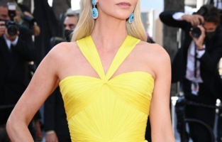 """CANNES, FRANCE - JULY 14: <> attends the """"A Felesegam Tortenete/The Story Of My Wife"""" screening during the 74th annual Cannes Film Festival on July 14, 2021 in Cannes, France. (Photo by Daniele Venturelli/WireImage)"""