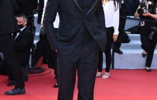 """CANNES, FRANCE - JULY 06: Baptiste Giabiconi attends the """"Annette"""" screening and opening ceremony during the 74th annual Cannes Film Festival on July 06, 2021 in Cannes, France. (Photo by Daniele Venturelli/WireImage)"""