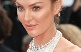 """CANNES, FRANCE - JULY 07: Candice Swanepoel attends the """"Tout S'est Bien Passe (Everything Went Fine)"""" screening during the 74th annual Cannes Film Festival on July 07, 2021 in Cannes, France. (Photo by Daniele Venturelli/WireImage)"""