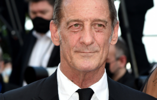 """CANNES, FRANCE - JULY 17: Vincent Lindon attends the final screening of """"OSS 117: From Africa With Love"""" and closing ceremony during the 74th annual Cannes Film Festival on July 17, 2021 in Cannes, France. (Photo by Dominique Charriau/WireImage)"""