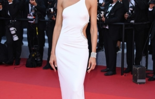 """CANNES, FRANCE - JULY 09: Izabel Goulart attends the """"Benedetta"""" screening during the 74th annual Cannes Film Festival on July 09, 2021 in Cannes, France. (Photo by Daniele Venturelli/WireImage)"""