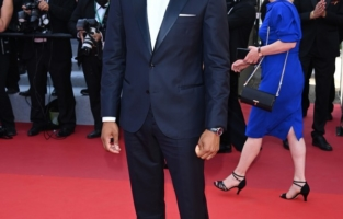 """CANNES, FRANCE - JULY 09: Kingsley Ben-Adir attends the """"Benedetta"""" screening during the 74th annual Cannes Film Festival on July 09, 2021 in Cannes, France. (Photo by Daniele Venturelli/WireImage)"""