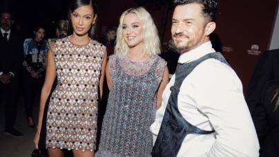 Louis Vuitton Les Extraits: il party con Katy Perry, Bella Hadid, Diane Kruger e Orlando Bloom