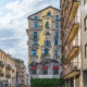 Murales The Vision Cheone Porta Romana Milano: l'omaggio a Gaudì e a Friedensreich Hundertwasser