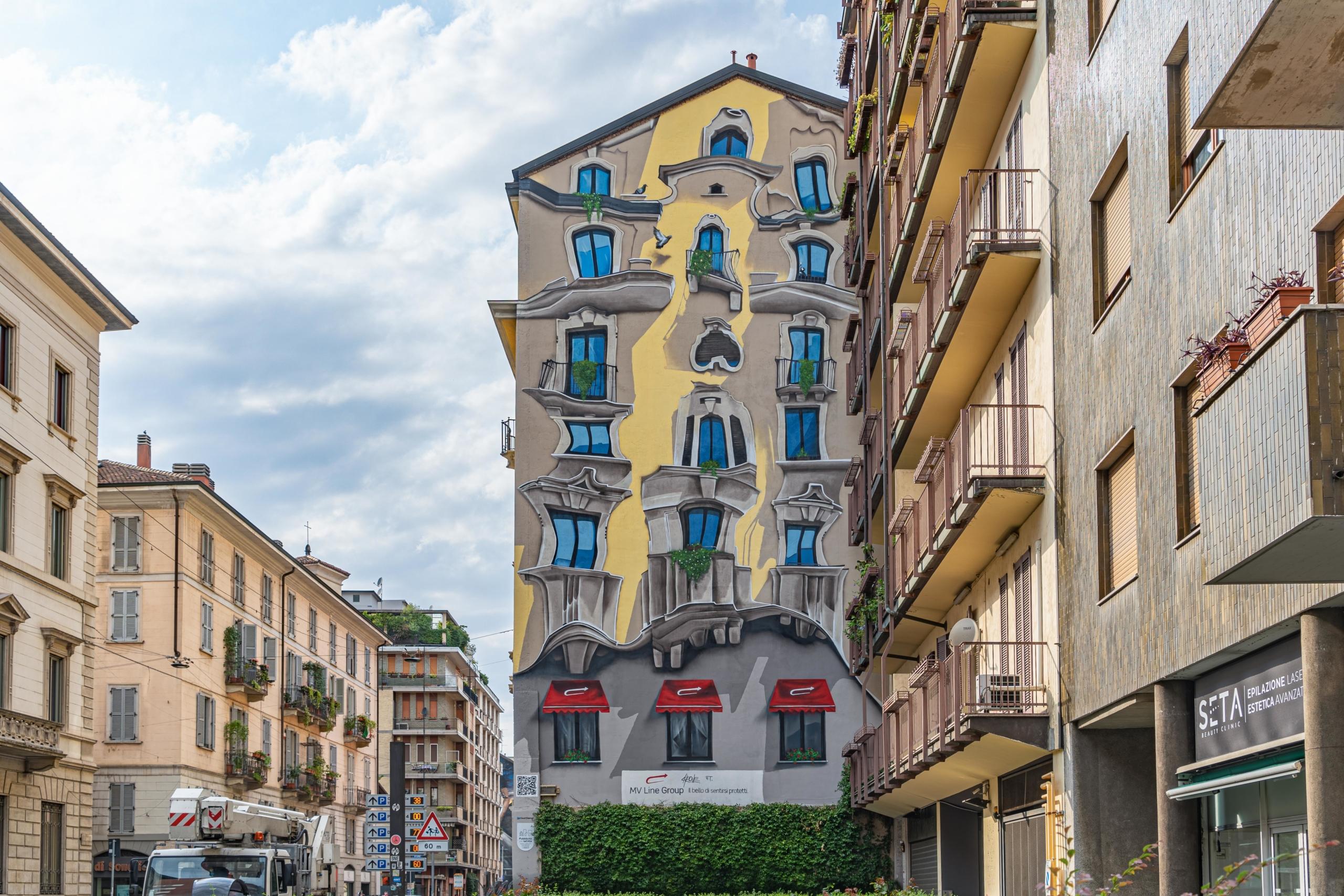Murales The Vision Cheone Porta Romana Milano