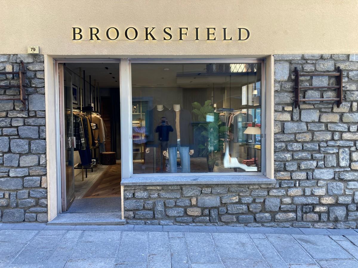 Brooksfield Courmayeur: il nuovo flagship store ai piedi del Monte Bianco