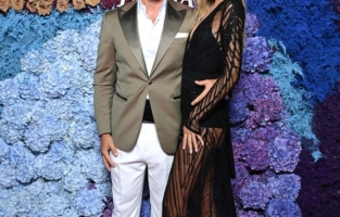 CAPRI, ITALY - JULY 31: Tommaso Chiabra and  Frida Aasen attend the LuisaViaRoma for Unicef event at La Certosa di San Giacomo on July 31, 2021 in Capri, Italy. (Photo by Daniele Venturelli/Daniele Venturelli/Getty Images for Luisaviaroma )