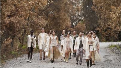 Antonio Marras primavera estate 2022: le foreste ferite della Sardegna, tutti i look della sfilata