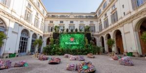 Fuorisalone 2021 Heineken: Greener Bar, il primo concept- bar sostenibile
