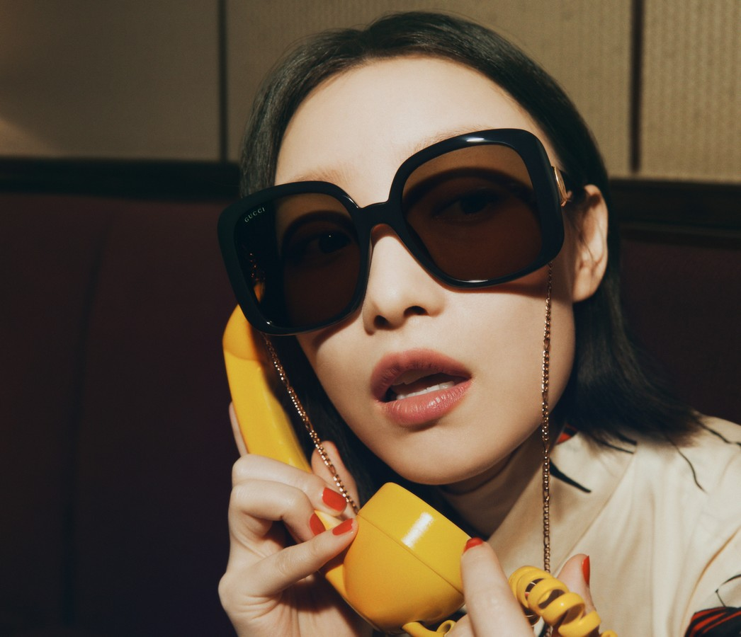 Gucci occhiali da sole autunno inverno 2021