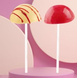 Gusto 17 gelato Pretty Woman: l'American Cheesecake con coulis di frutti rossi
