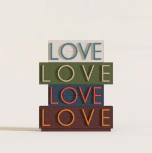 Milano Design Week 2021 Cuoio di Toscana: l'inedita versione della consolle Love by Fabio Novembre
